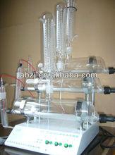 destilador de agua de vidrio