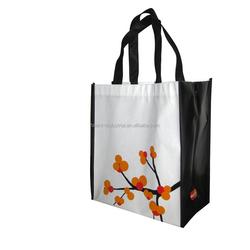 Recycle non woven shopping bag with logo,promotional cheap logo shopping bags