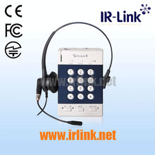 Call recording headset phone for call centers, Ziphone2