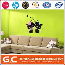 Direct Factory Price Durable Original Design 5D Home Decor Kids Wall Sticker