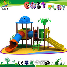 kids plastic playground roller slide playground