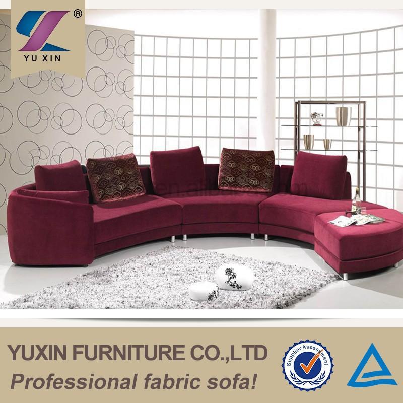 u geformt bunte schnitt couch runden ecksofa wohnzimmer sofa produkt id 60281664683 german. Black Bedroom Furniture Sets. Home Design Ideas