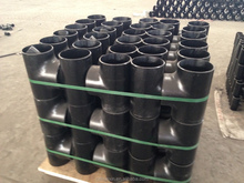cs pipe fittings tee reducing ASTM A234 WPB ERW