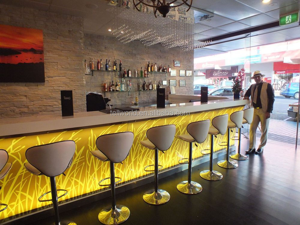 Solid Surface Tables Long Buffet Bar Tables With Bar