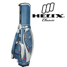 Helix ladies designer golf bag with wheels / ladies pink golf bags/ pu golf bag with wheels