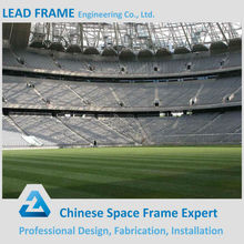 Stainless Light Steel Waterproof Space Frame Bleachers Roof