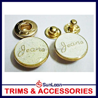 China factory price High quality metal snap buttons for fur coats
