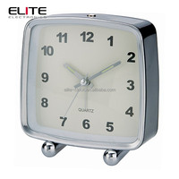 nostalgia square BB giant retro metal desk alarm clocks