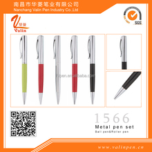 Logo customized wholesale metal promotional pen /best price ball pen