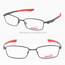 High Quality Titanium Optical frames Trendy Sun eyeglasses Fashion design Eyewear Reading glasses