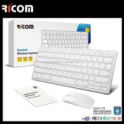 2015 Fashion computer laptop keyboard,mini wireless keyboard,Mini Bluetooth keyboard--BK117--Shenzhen Ricom