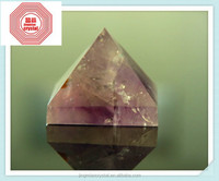 2015 Natural Top Quality best selling Natural crystal natural amethyst crystal pyramid to incur wealth & ward bad luck