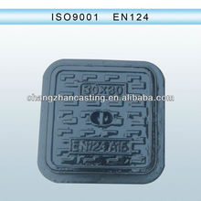 HOT! D400 F900 ductile iron manhole cover with lock & hinge