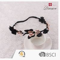 Top Sales Quality Assured Infant Smart Female Jeweled Rainbow Headbands Hair Bands
