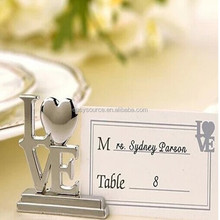wholesale crystal place card holders wedding party gift table decoration