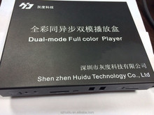 Huidu shenzhen HD-A601 1280*720 Max 65536 grey level full color led display screen xxx video controller card