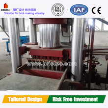 Competitive price full automatic block machine in China to make color pavement bricks