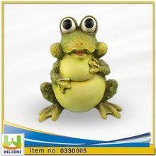 Outdoor Animal Garden Decorations Frog with Big Eye