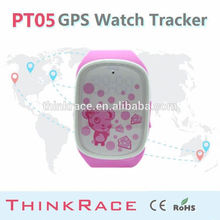 Smart personal gps tracker Gps watch PT05 with vibration alarm
