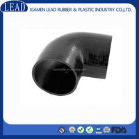 Automotive 90 degree elbow reducer silicone hose