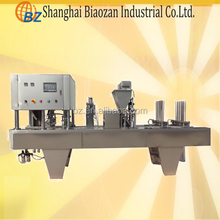high speed 4 filling heads k-cup filling sealing machine