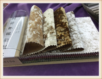 China supplier 100% polyester upholstery fabric snow ice velvet sofa fabric/sofa cover fabric