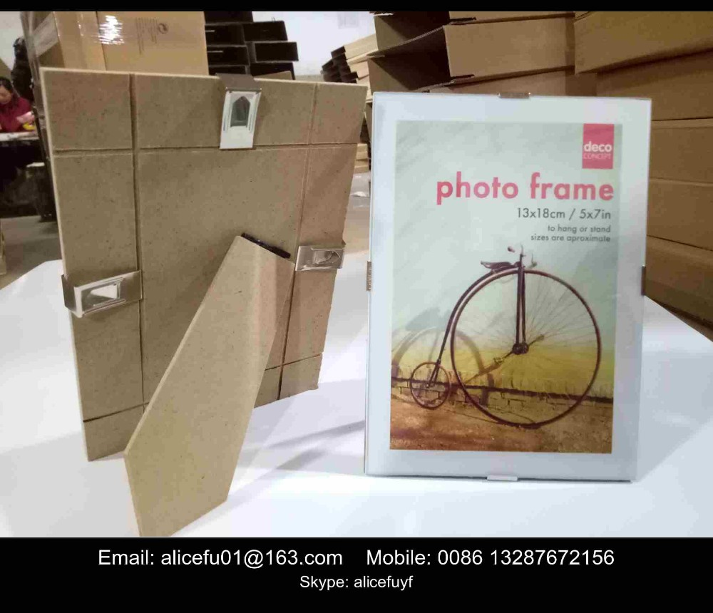 """Picture Poster Frame Glass 10x15cm Pack of 4 Quality 6x4/"""" Clip Photo"""