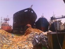 Oil Tanker ship Scrap