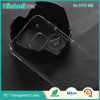 Wholesale Newest transparent pc mobile phone case for HTC M9