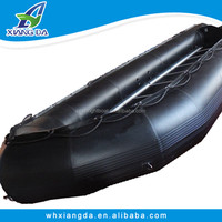 China Factory PVC Hull 8m Rigid Aluminum Floor Inflatable Rescue Boat