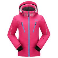 OEM new style fashionable women's high quality and waterproof ski jacket