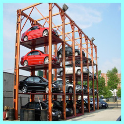 Mutrade 4 levels four post stacker parking construction