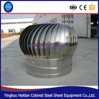 Ventilation Type wind powered driven roof air ventilators