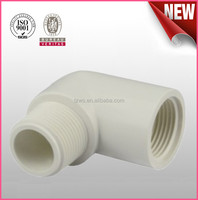 Pvc Pipe Fitting upvc thread Male & Female Elbow sch40 for water supply
