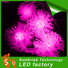 New type led christmas lights snow ball string light