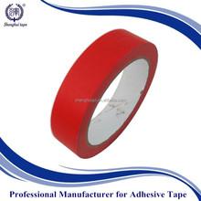Red hight temp waterproof masking tape Powder Coating