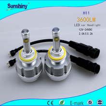 Most Brightness 3600Lm Car H11 LED Headlight Fielder Headlight