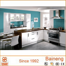 high gloss grey lacquer kitchen cabinet for sale