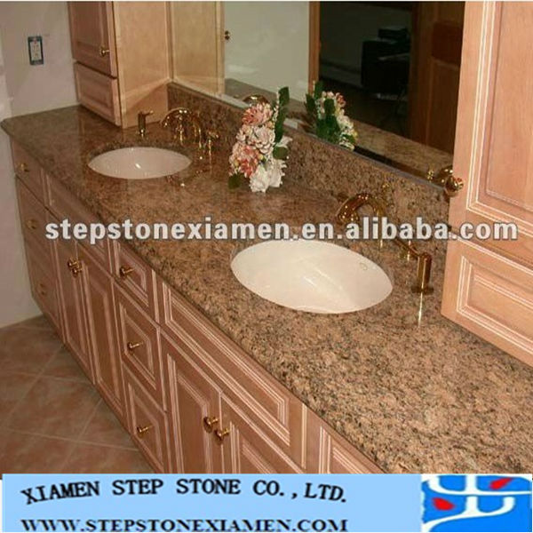 Granite Countertops Low Prices : Low Price Natural Granite Bathroom Vanity And Granite Countertop - Buy ...