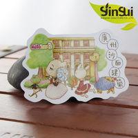 New design fashion madrid souvenir fridge magnet