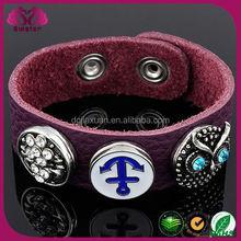 MOQ 100pcs popular press button jewelry