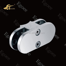 SS304 316 stainless steel glass clamp glass clip for holding/retaining