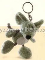 Keychain Plush Mouse Toy ,Customized Plush Toys,Plush Animal Keychain