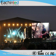 outdoor p8 ultra slim led screen for Audio Visual rental