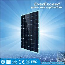EverExceed Reliable Quality 156*156 Monocrystalline Solar Panel for solar street light system with intelligent controller