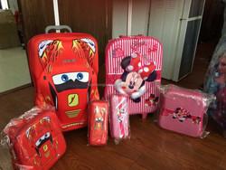 Cartoon Design 3D Print EVA Sophie kids school luggage
