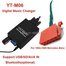 Yatour digital cd changer car audio adapter mercedes bens 10pin plug