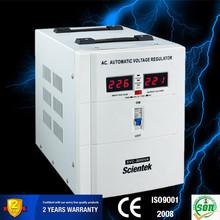SCIENTEK New Technology Intelligent LED meter wall mount Automatic Voltage Stabilizer 3000va 1800w
