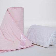 Five star Hotel use Satin Stripe 100% long Mulberry Silk comforter (Filler 2 kg)