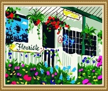 40*50cm home decoration flower painting wall pictures for living room